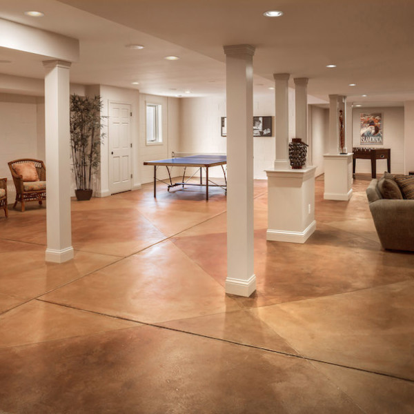 Basement Remodeling Company: Mequon Lower Level Basement Remodeling