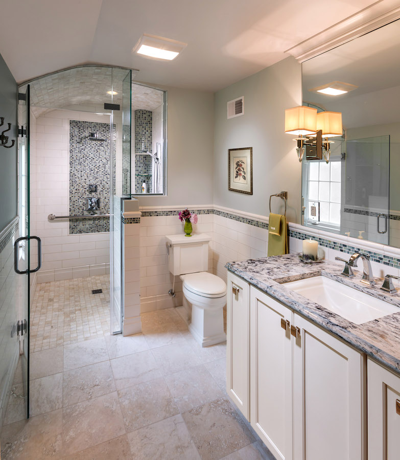 Bathroom Remodeling Milwaukee milwaukee master bathroom remodeling - sj janis