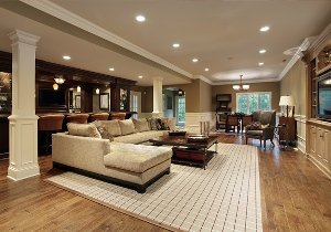 S.J. Janis Company: Lower Level Remodeling