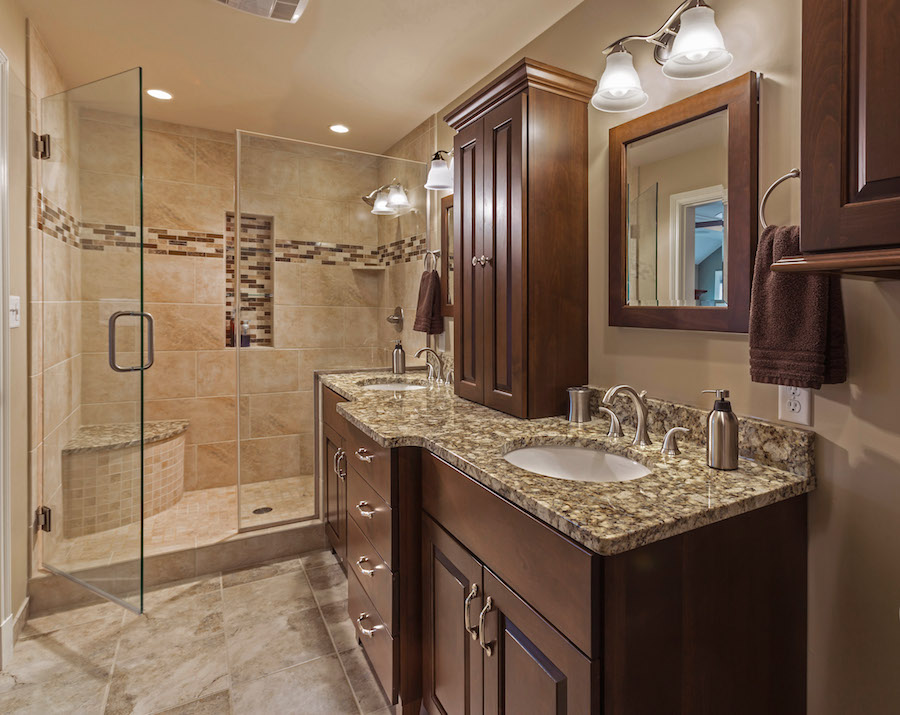 Master Bathroom Addition whitefish bay – master bathroom - sj janis