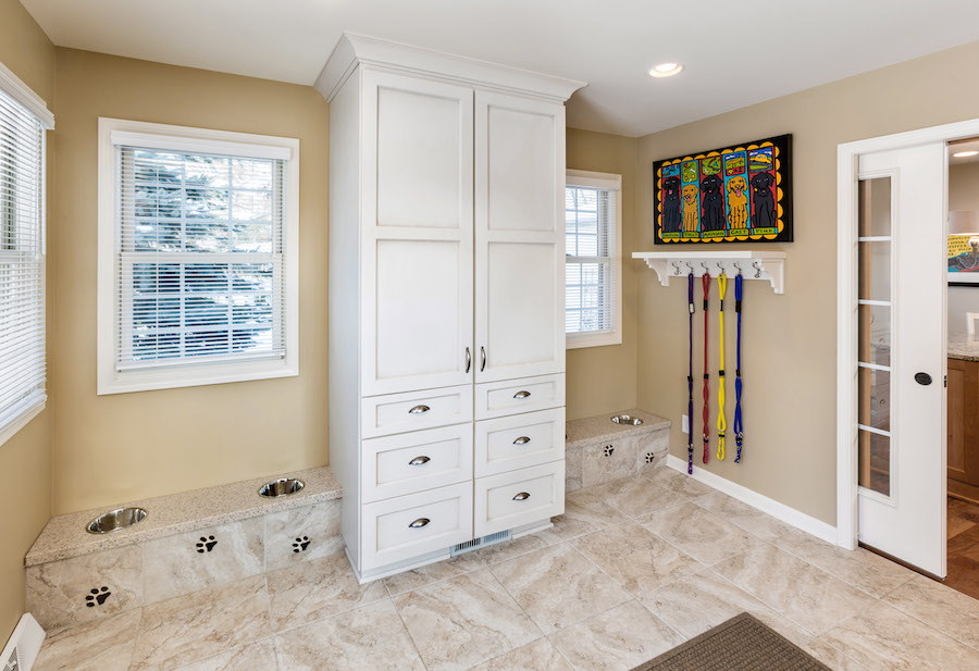 Home; Racine Mudroom Cabinets
