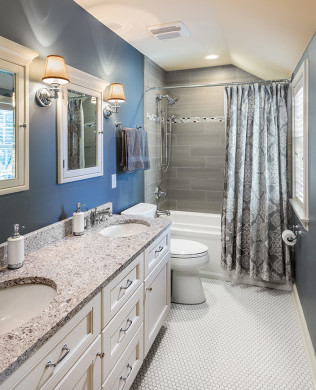Kidu0027s Remodeled Bathroom In Wauwatosa